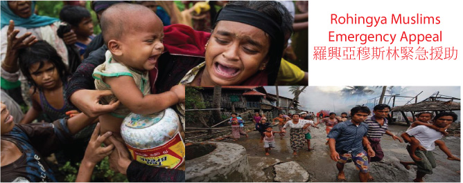 Appeal for Rohingya Muslims